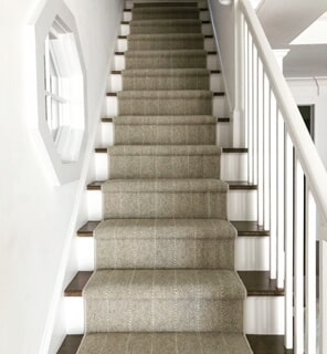 Textured stair carpet in Old Saybrook, CT from Westbrook Floor Covering
