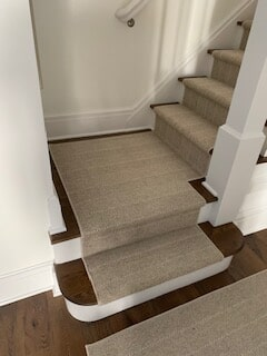 Stair carpet in Madison, CT from Westbrook Floor Covering
