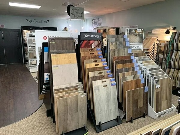 Armstrong flooring options for your Orange, TX home from Odile's Fine Flooring & Design
