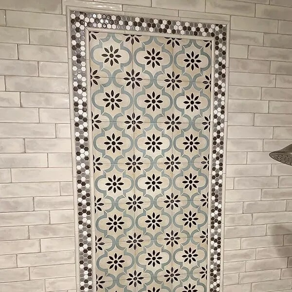 Custom tile work in Sulphur, LA from Odile's Fine Flooring & Design