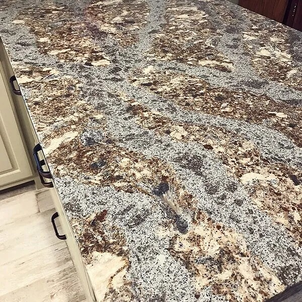 Gorgeous stone counters in Port Neches, TX from Odile's Fine Flooring & Design