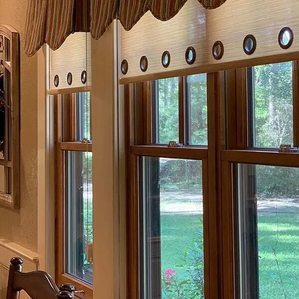 Window treatments in Sulphur, LA from Odile's Fine Flooring & Design