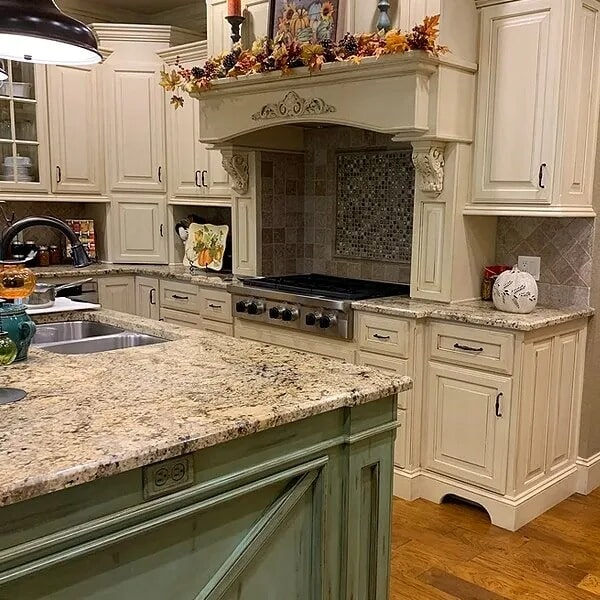 Kitchen remodel in Vidor, TX from Odile's Fine Flooring & Design