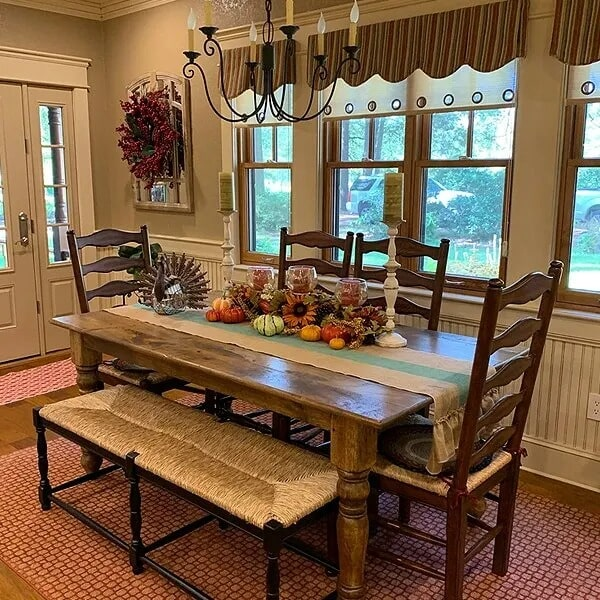 Dining room renovation in Port Neches, TX from Odile's Fine Flooring & Design
