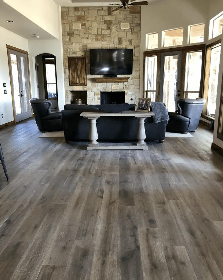 Hardwood flooring from Posh Floors in Spicewood, TX