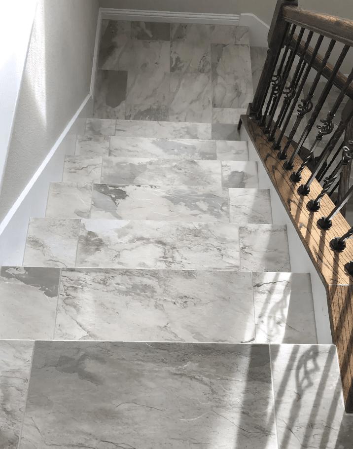 Tile flooring from Posh Floors in Bee Cave, TX