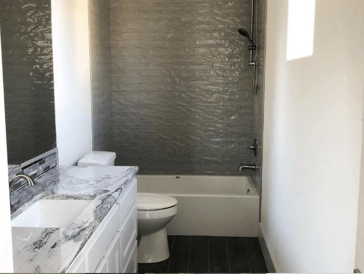 Shower tiles from Posh Floors in Westlake, TX