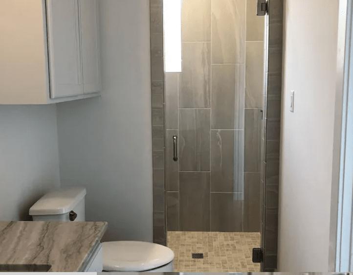 Shower tiles from Posh Floors in Spicewood, TX