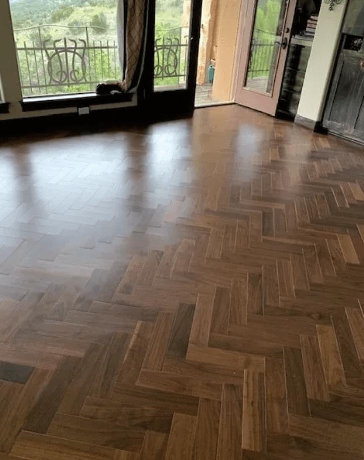 Luxury vinyl flooring from Posh Floors in Austin, TX