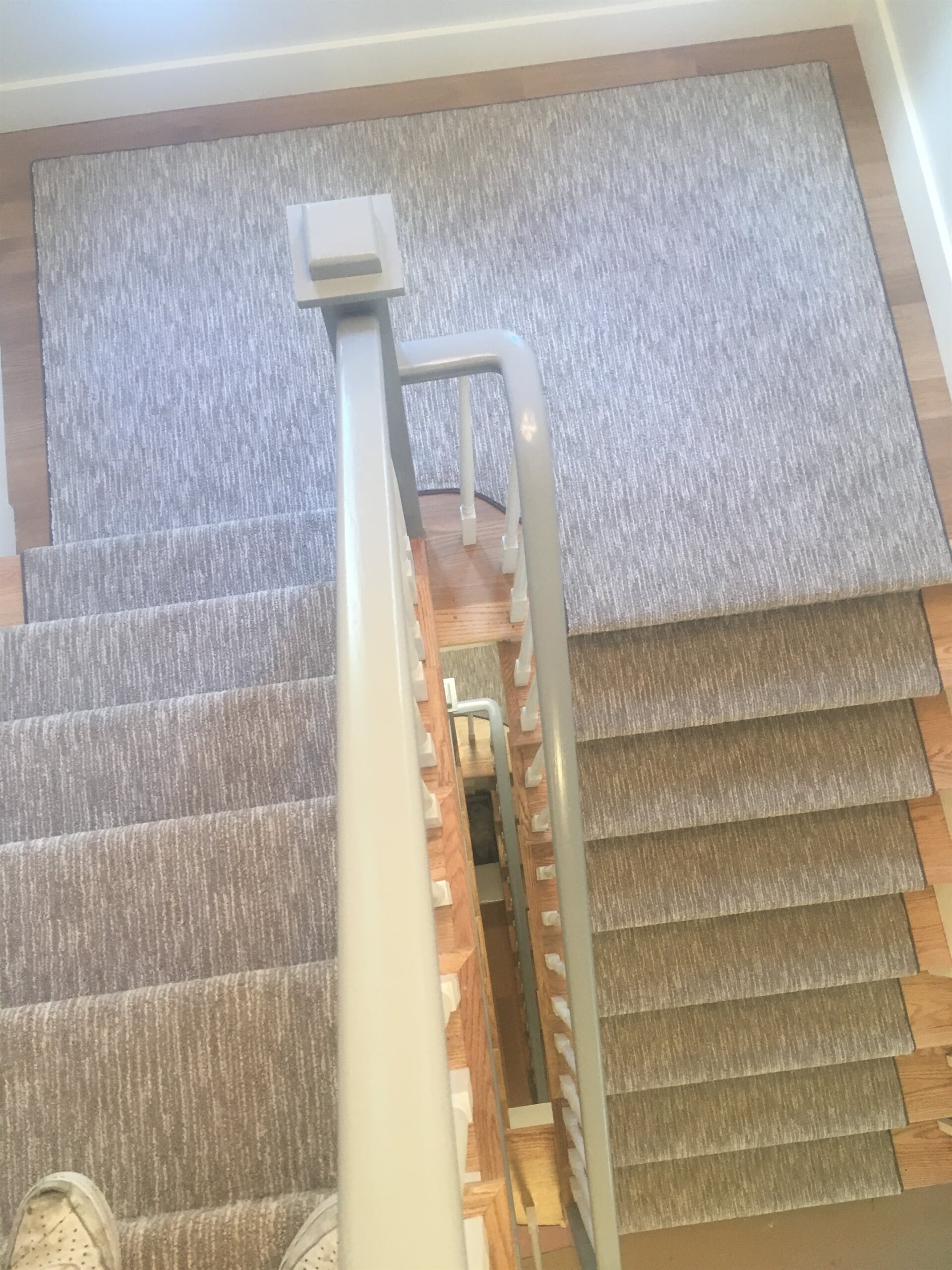 Textured stair carpet in Yonkers, NY from Carpet Gallery