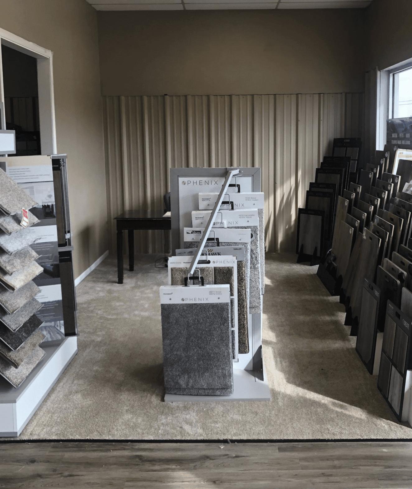 AL - GA Carpet showroom near Cordova, AL
