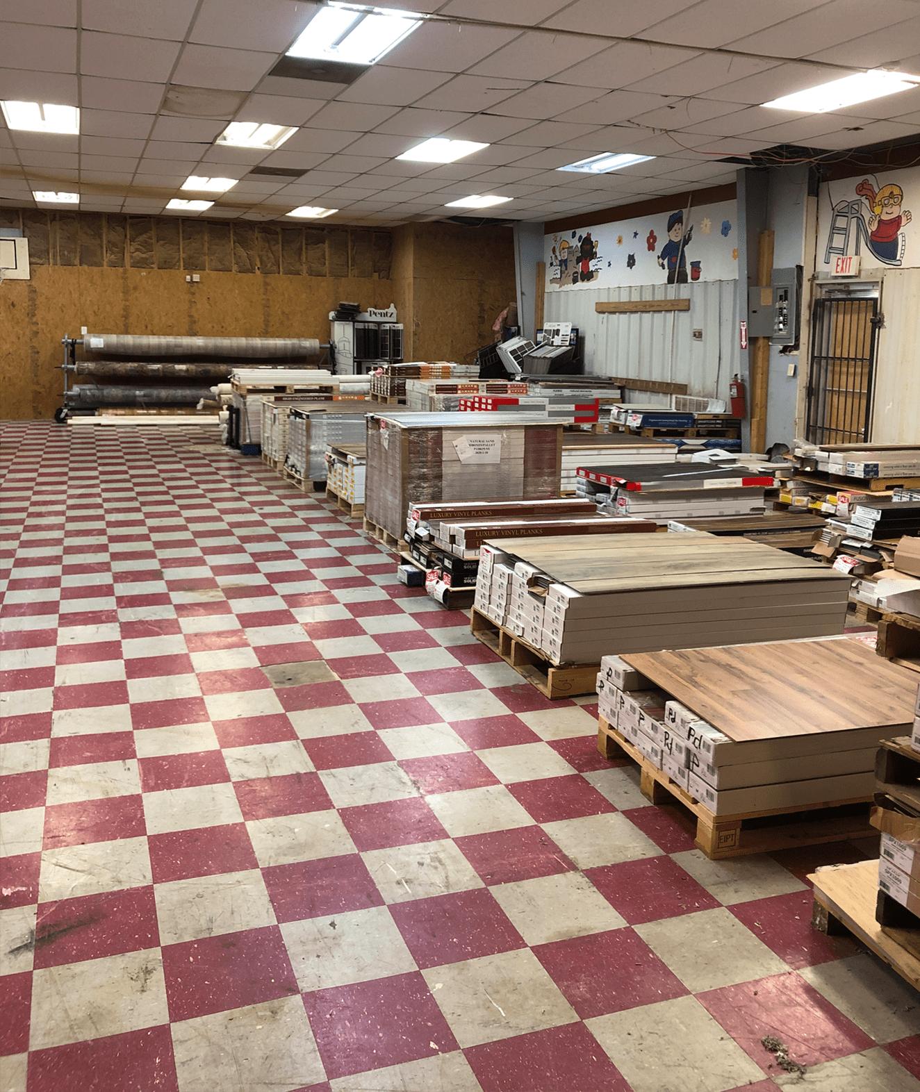 AL - GA Carpet showroom near Jasper, AL