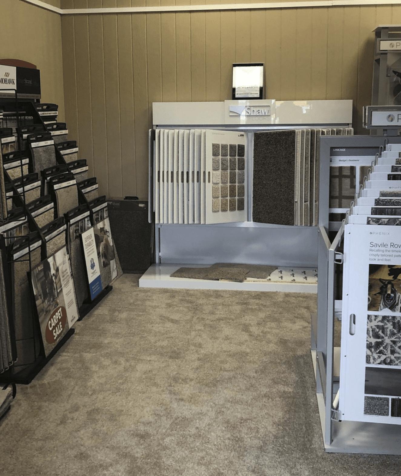 AL - GA Carpet showroom near Sumiton-Dora, AL