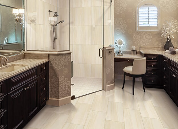 Custom cabinets and countertops in St Augustine FL from The Kitchen and Flooring Design Center