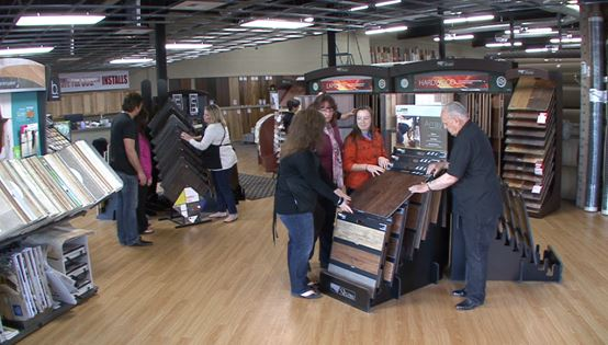 Carpet Barn showroom in Spokane Valley, WA