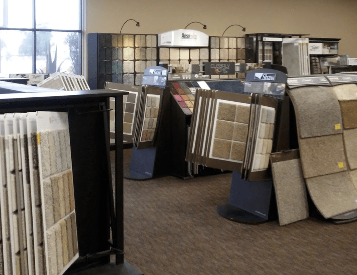 Walk through our displays here at Floor Source in Phoenix, AZ