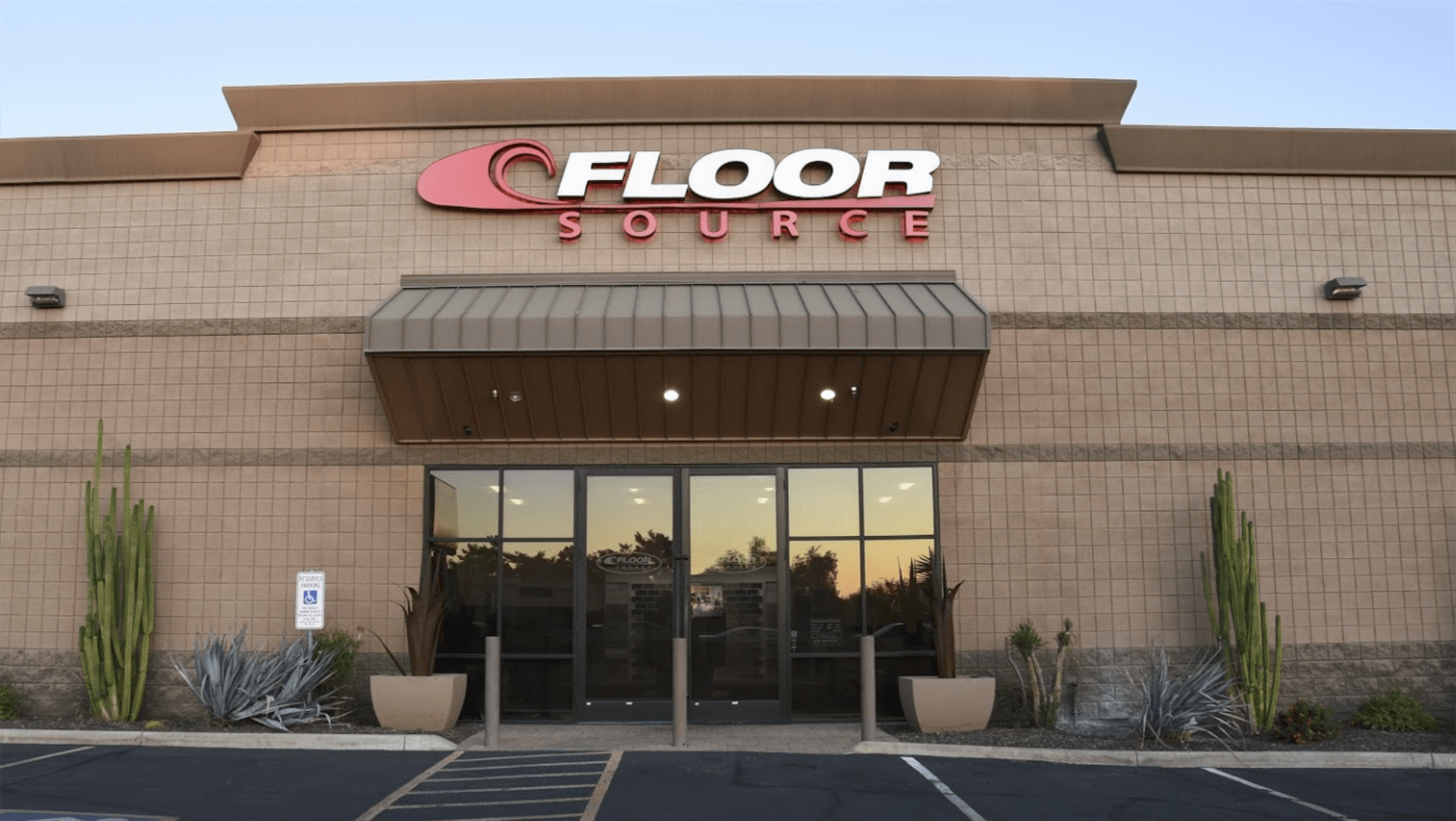The Floor Source storefront in Phoenix, AZ, stop by today!
