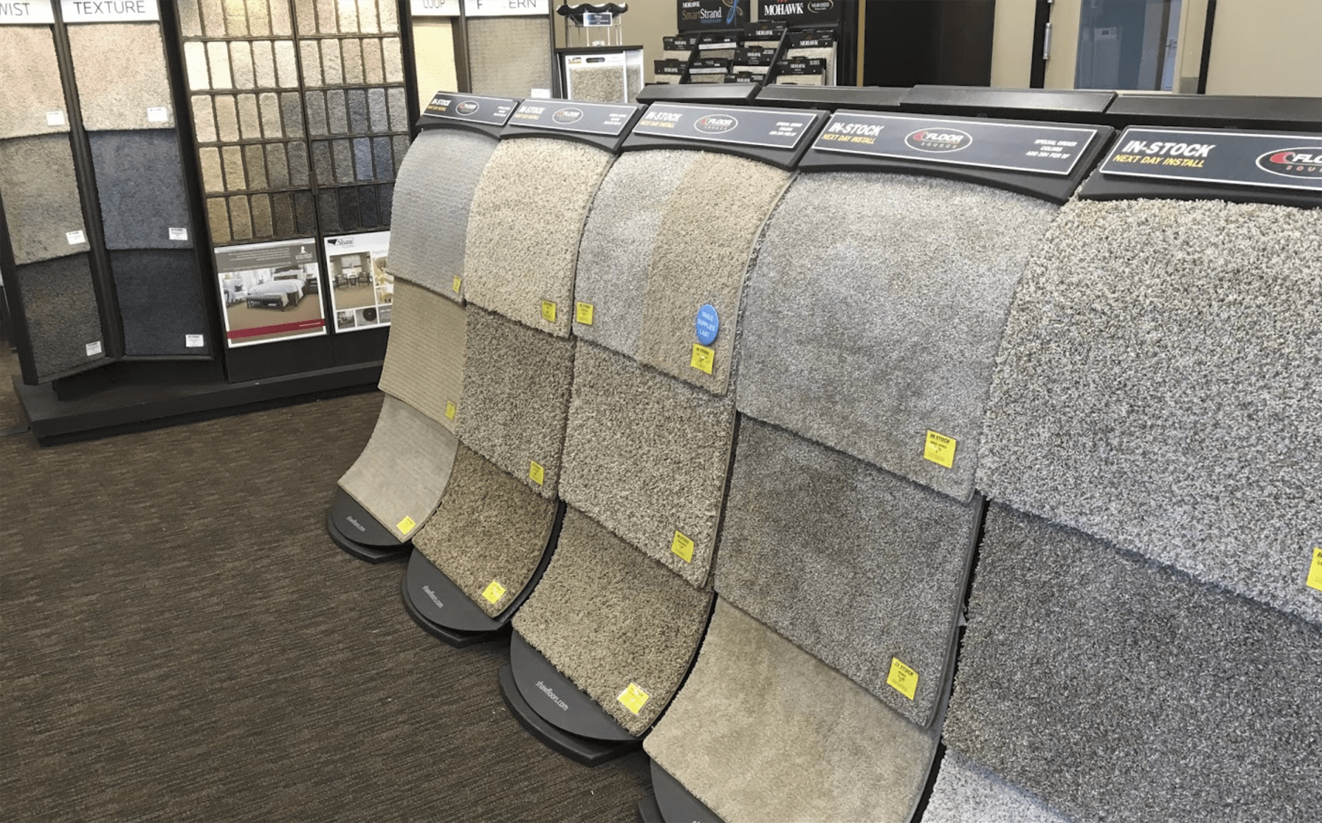Beautiful carpet options at Floor Source in Phoenix, AZ