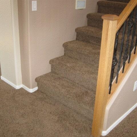 Stair carpet installation in Chandler, AZ from Abel Carpet Tile & Wood