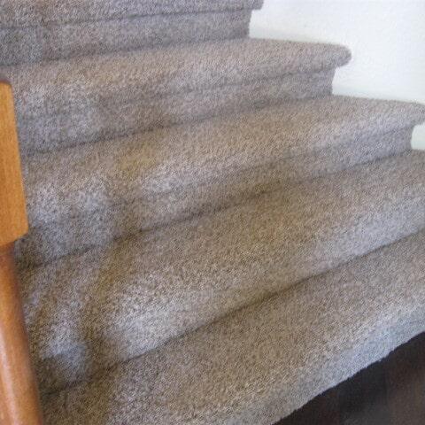 Custom stair carpet installation in Tempe, AZ from Abel Carpet Tile & Wood
