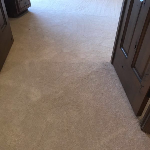 Hallway carpet installation in Tempe, AZ from Abel Carpet Tile & Wood