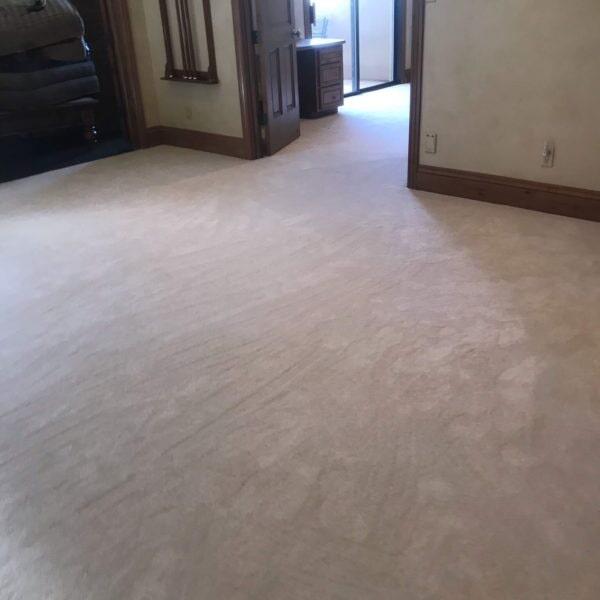 Master bedroom carpet installation in Gilbert, AZ from Abel Carpet Tile & Wood