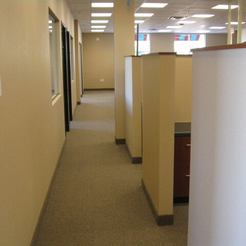 Commercial office installation in Queen Creek, AZ from Abel Carpet Tile & Wood