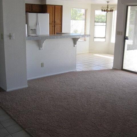 Modern carpet installation in Gilbert, AZ from Abel Carpet Tile & Wood