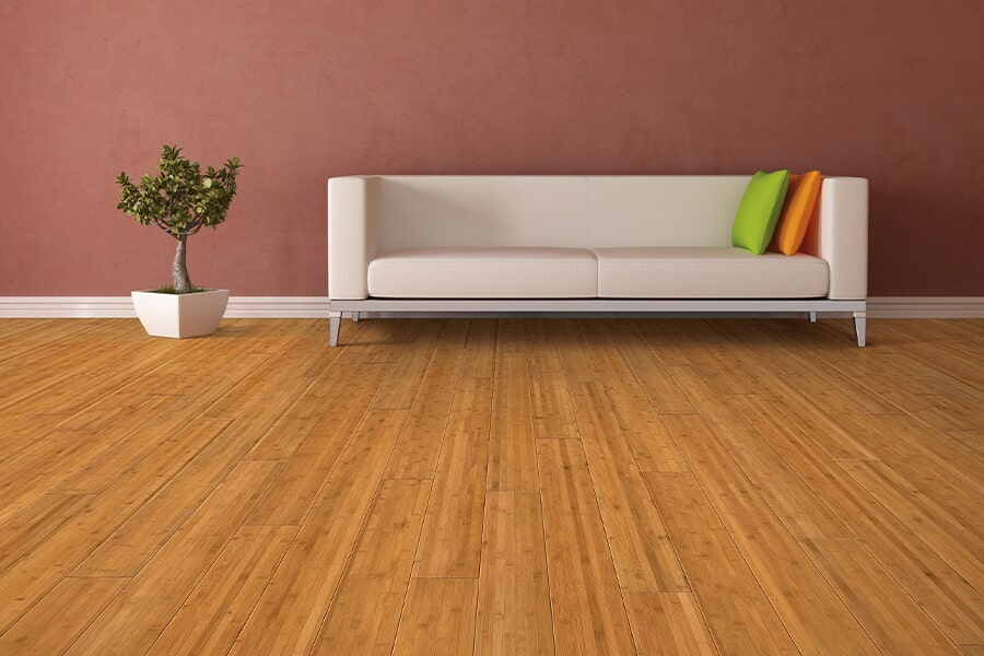 Bamboo floor installation in Weymouth, MA from Hardwood Flooring Direct