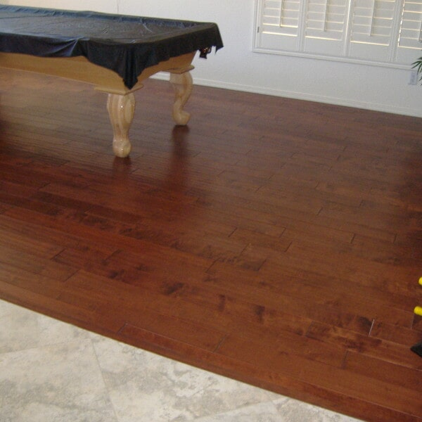 Hardwood flooring installation in Gilbert, AZ from Abel Carpet Tile & Wood