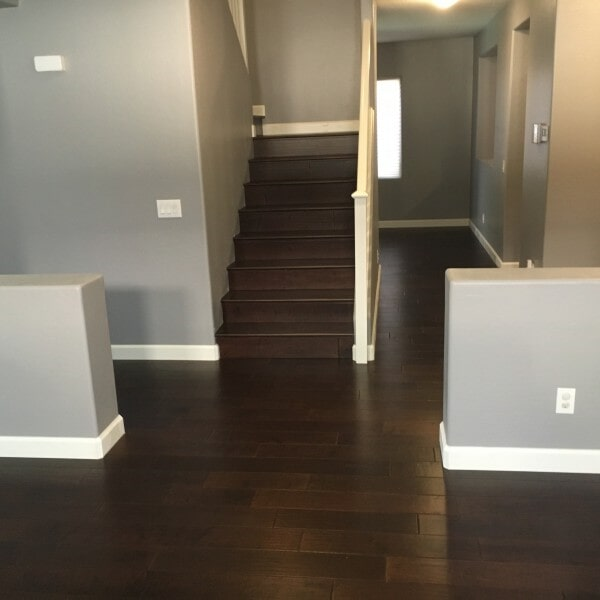 Dark hardwood flooring in Queen Creek, AZ from Abel Carpet Tile & Wood