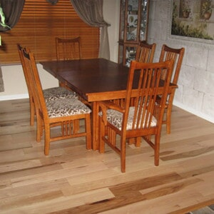 Dining room hardwood flooring in Tempe, AZ from Abel Carpet Tile & Wood