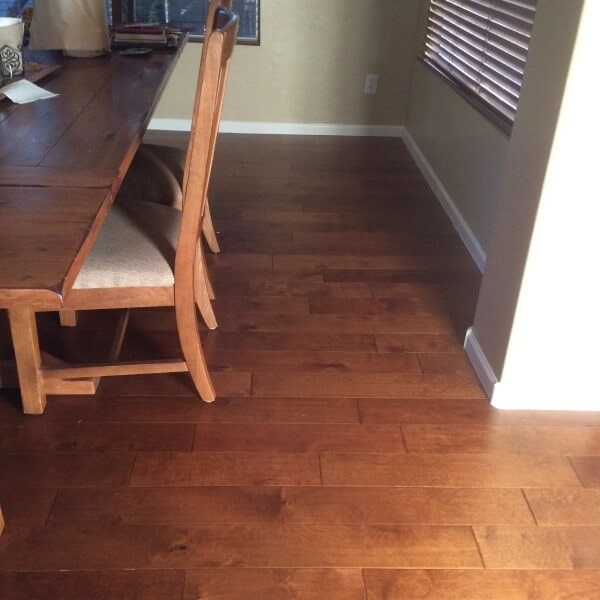 Natural wood flooring in Queen Creek, AZ from Abel Carpet Tile & Wood