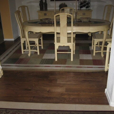 Wood floor installation in Queen Creek, AZ from Abel Carpet Tile & Wood
