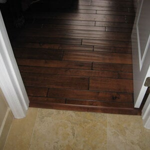 Dark wood floors in Gilbert, AZ from Abel Carpet Tile & Wood