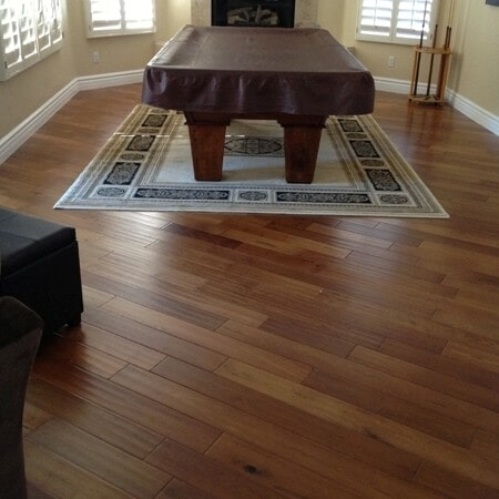 Modern wood flooring installation in Tempe, AZ from Abel Carpet Tile & Wood