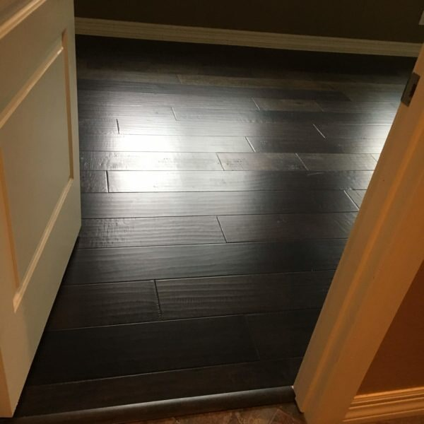 Dark textured hardwood flooring in Chandler, AZ from Abel Carpet Tile & Wood