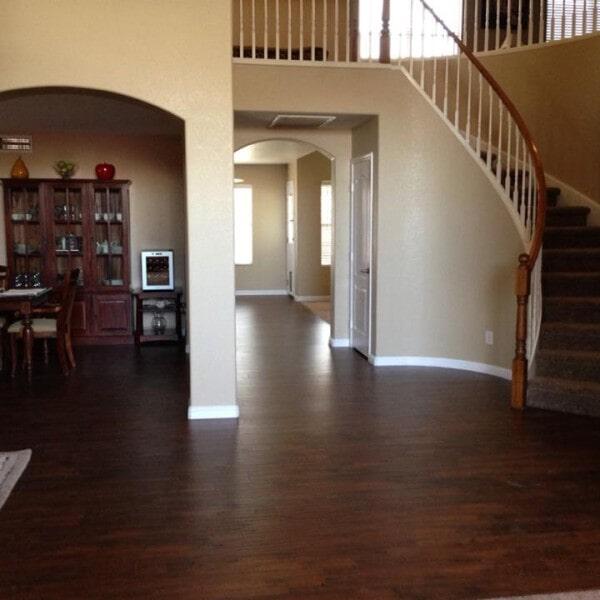 Modern wood look laminate flooring in Gilbert, AZ from Abel Carpet Tile & Wood
