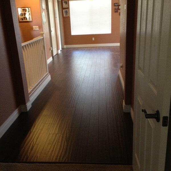 Dark wood look laminate in Chandler, AZ from Abel Carpet Tile & Wood