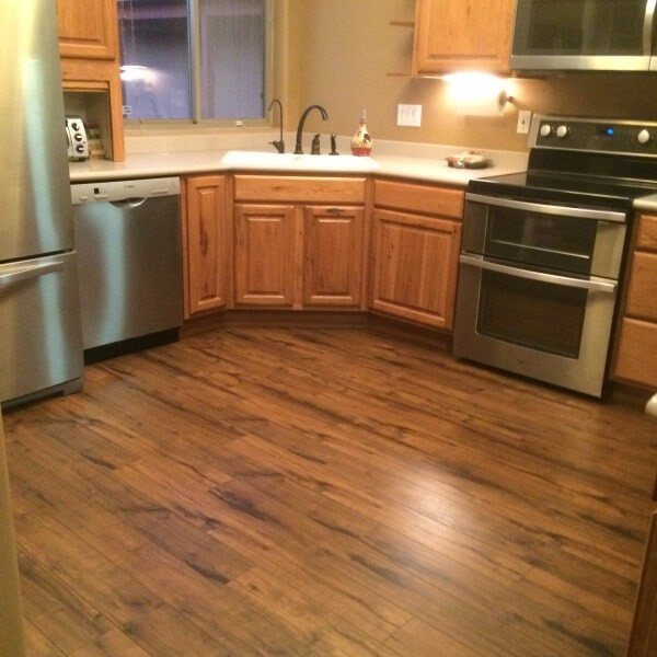 Laminate kitchen flooring in Queen Creek, AZ from Abel Carpet Tile & Wood