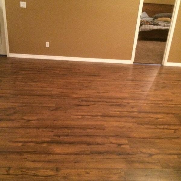 Laminate flooring installation in Chandler, AZ from Abel Carpet Tile & Wood