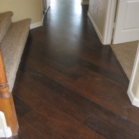 Custom laminate flooring installation in Queen Creek, AZ from Abel Carpet Tile & Wood