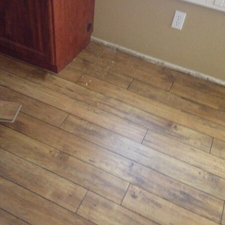 Professionally installed laminate flooring in Queen Creek, AZ from Abel Carpet Tile & Wood