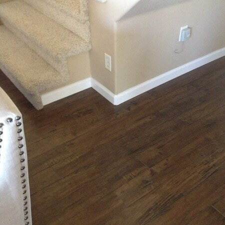 Natural wood texture laminate flooring in Chandler, AZ from Abel Carpet Tile & Wood