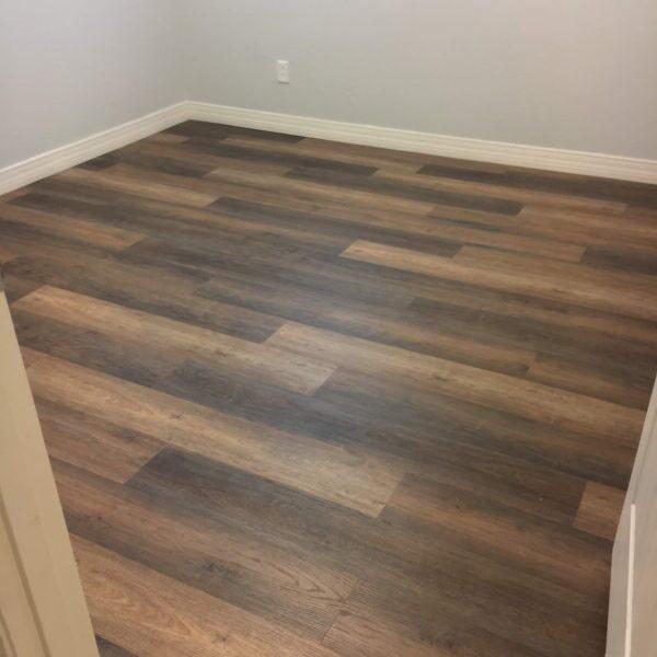 Wood look luxury vinyl flooring in Gilbert, AZ from Abel Carpet Tile & Wood