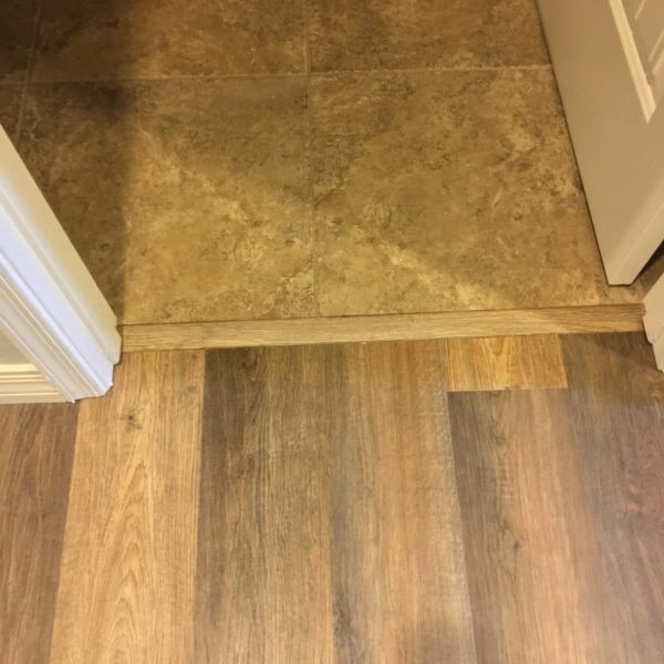Tile and luxury vinyl flooring installation in Queen Creek, AZ from Abel Carpet Tile & Wood