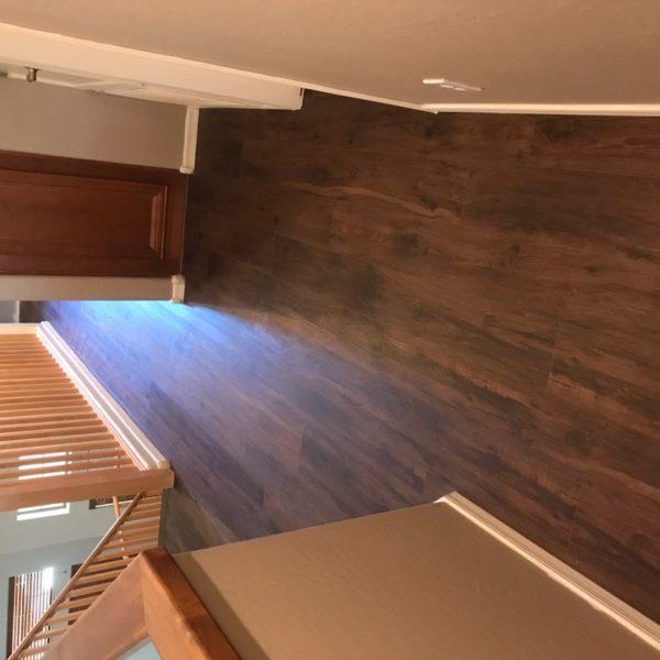 Luxury vinyl hallway in Chandler, AZ from Abel Carpet Tile & Wood