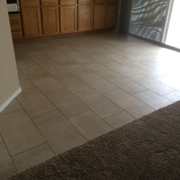 Classic tile flooring in Tempe, AZ from Abel Carpet Tile & Wood
