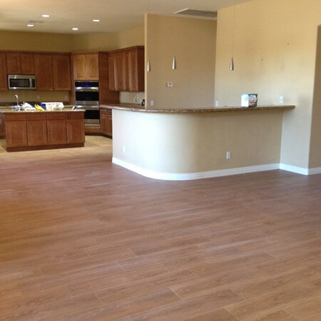 Classic hardwood flooring installation in Chandler, AZ from Abel Carpet Tile & Wood