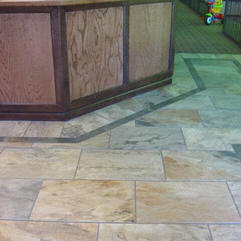 Custom tile flooring installation in Queen Creek, AZ from Abel Carpet Tile & Wood